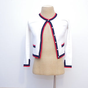 ZARA Blogger Favorite Gucci Stripe Cardi Sweater